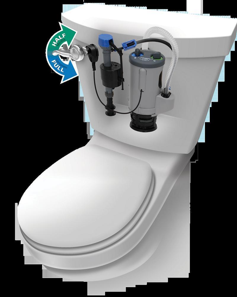 Toilet History Dual Flush