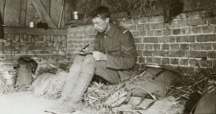 Uncovered World War 1 Photos Provide A Candid Glimpse Into Trench Life