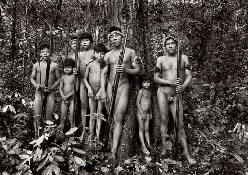 Most Threatened Tribe Black White