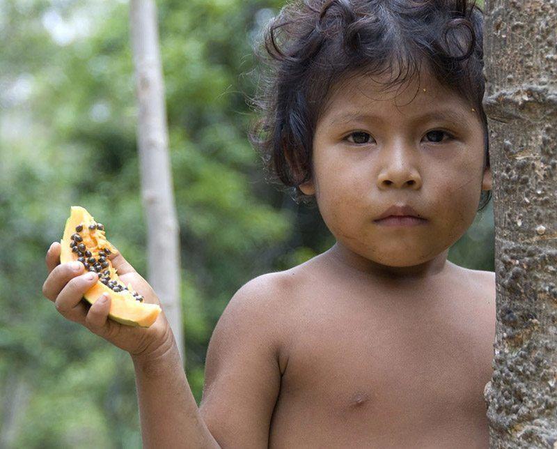 Most Threatened Tribe Child