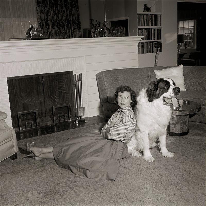 Vintage Betty White Dog