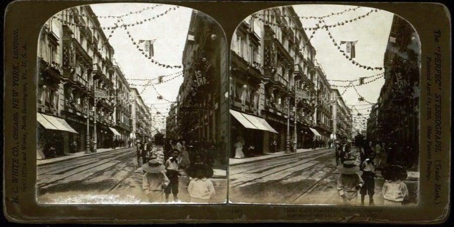 Vintage Spain Calle Preciados