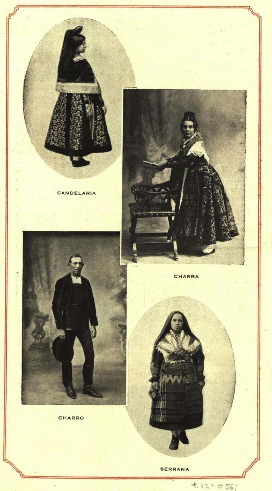 Vintage Spain Salamanca Trajes