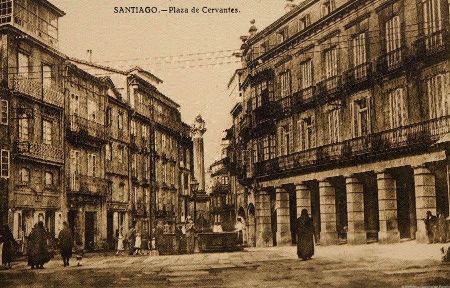 Vintage Spain Santiago de Compostela