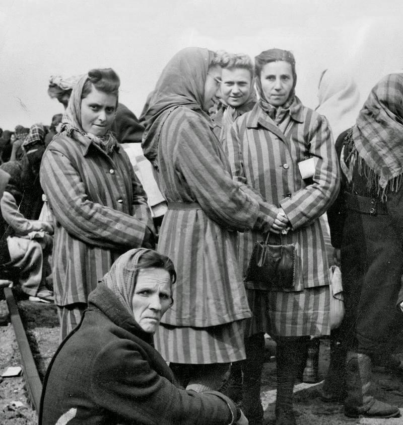 Women Inside Ravensbrück Women's Concentration Camp