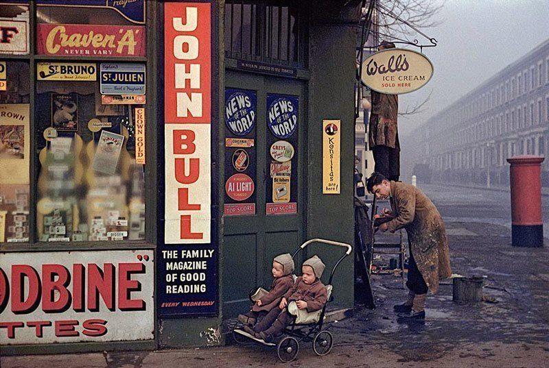 1950s Life England