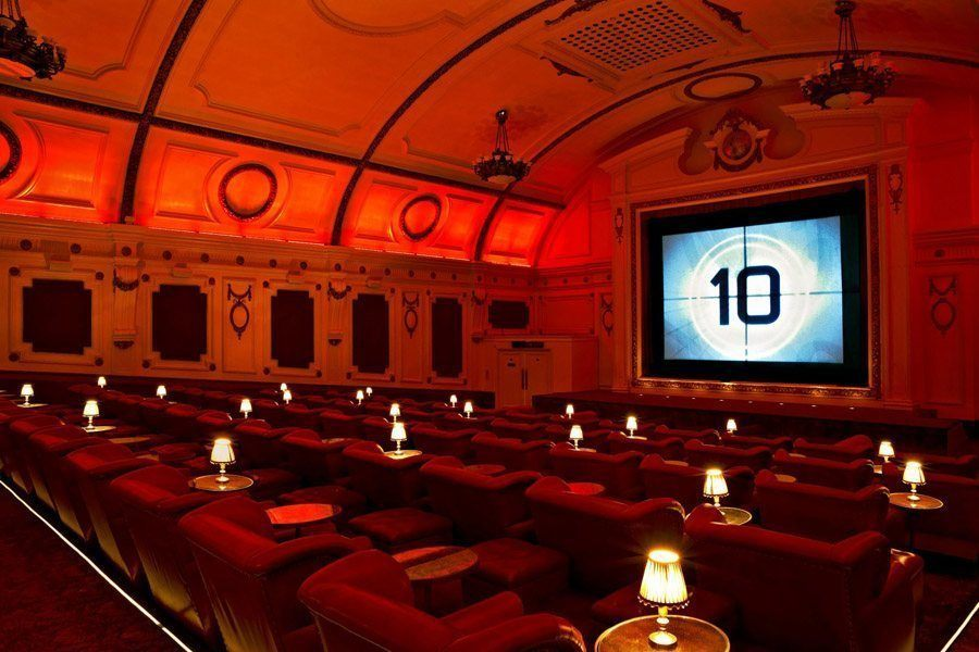 coolest cinemas electric cinema screen