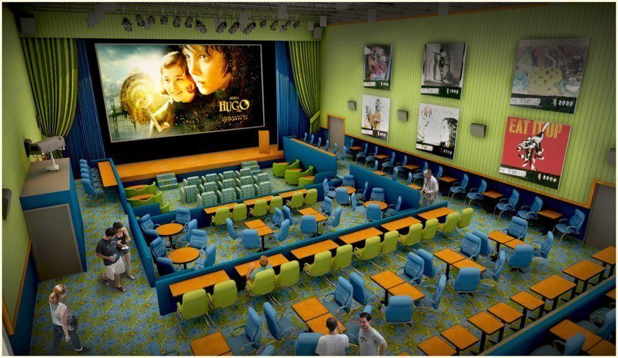 coolest cinemas enzian theater floorplan