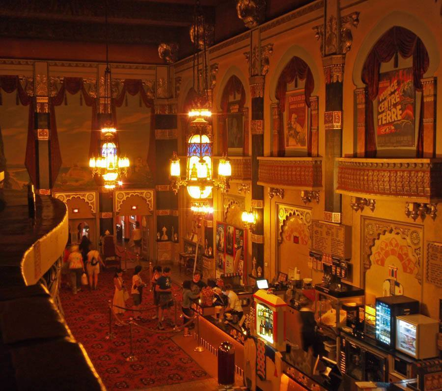 Coolest cinemas Oriental Lobby Milwaukee