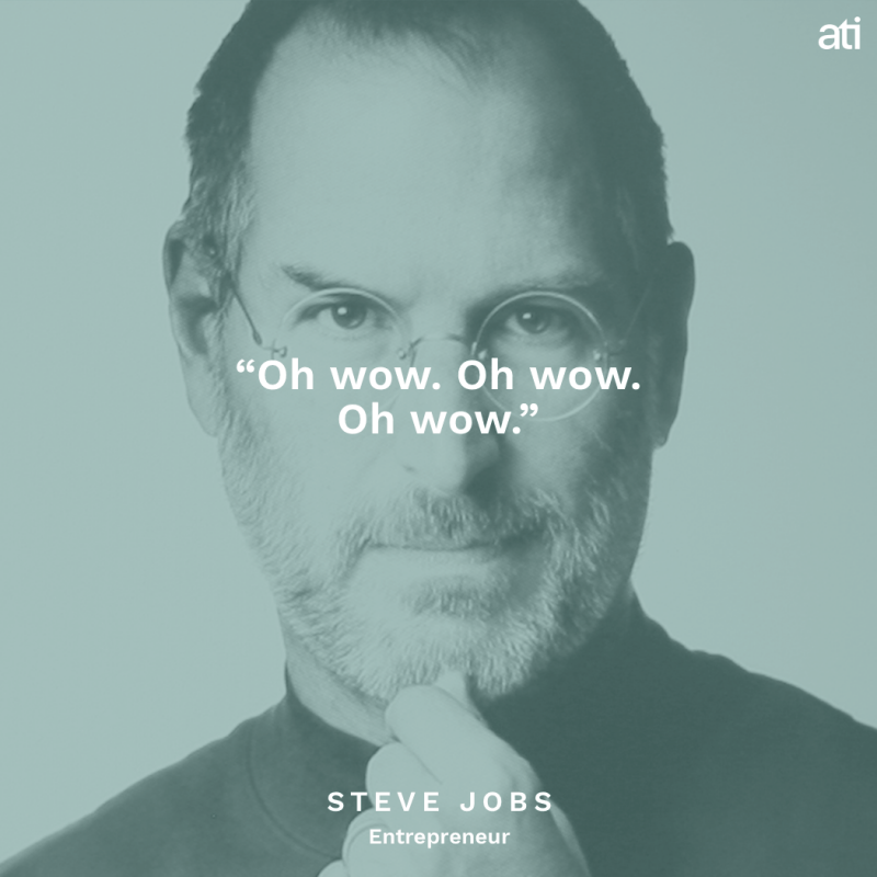 Steve Jobs Haunting Last Words