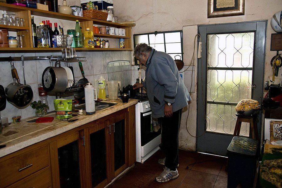 Jose Mujica At Home