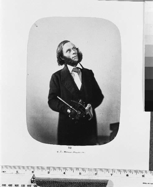 Bedlam Portrait Of George Johnson