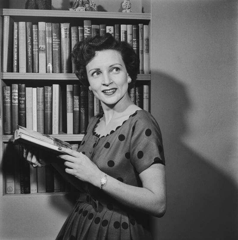 Betty White Reads