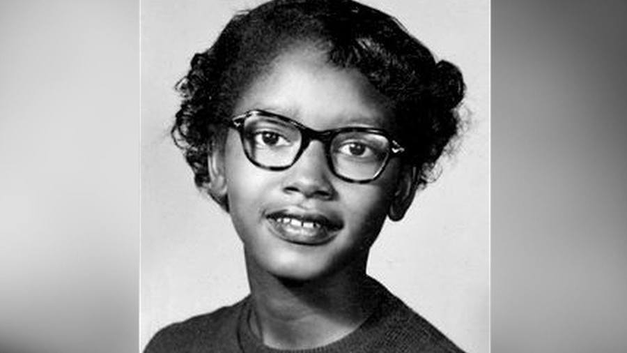 black history claudette colvin young