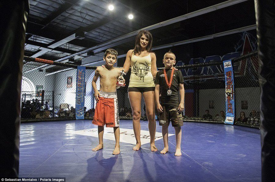Trophies For Winning MMA Tournament