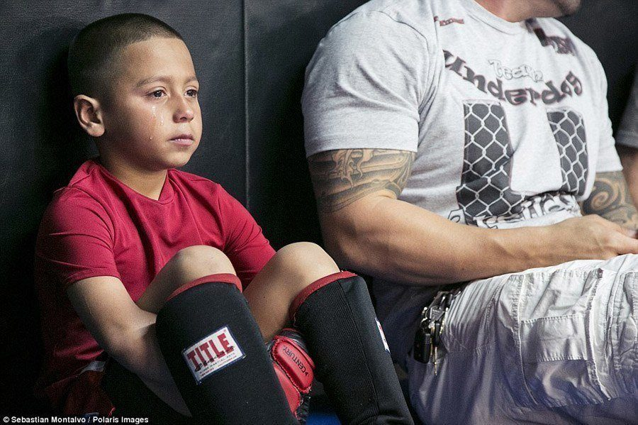 caged kids tough defeat