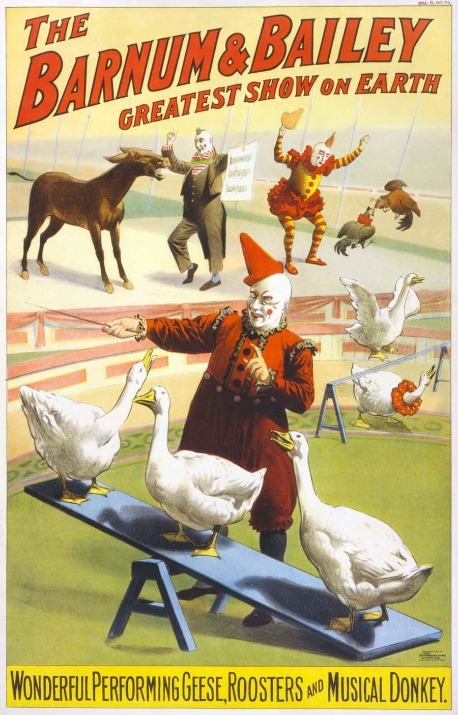classic circus barnum bailey