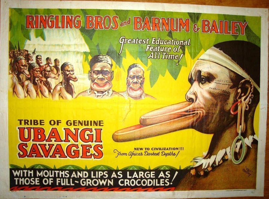 classic circus ubangi tribe