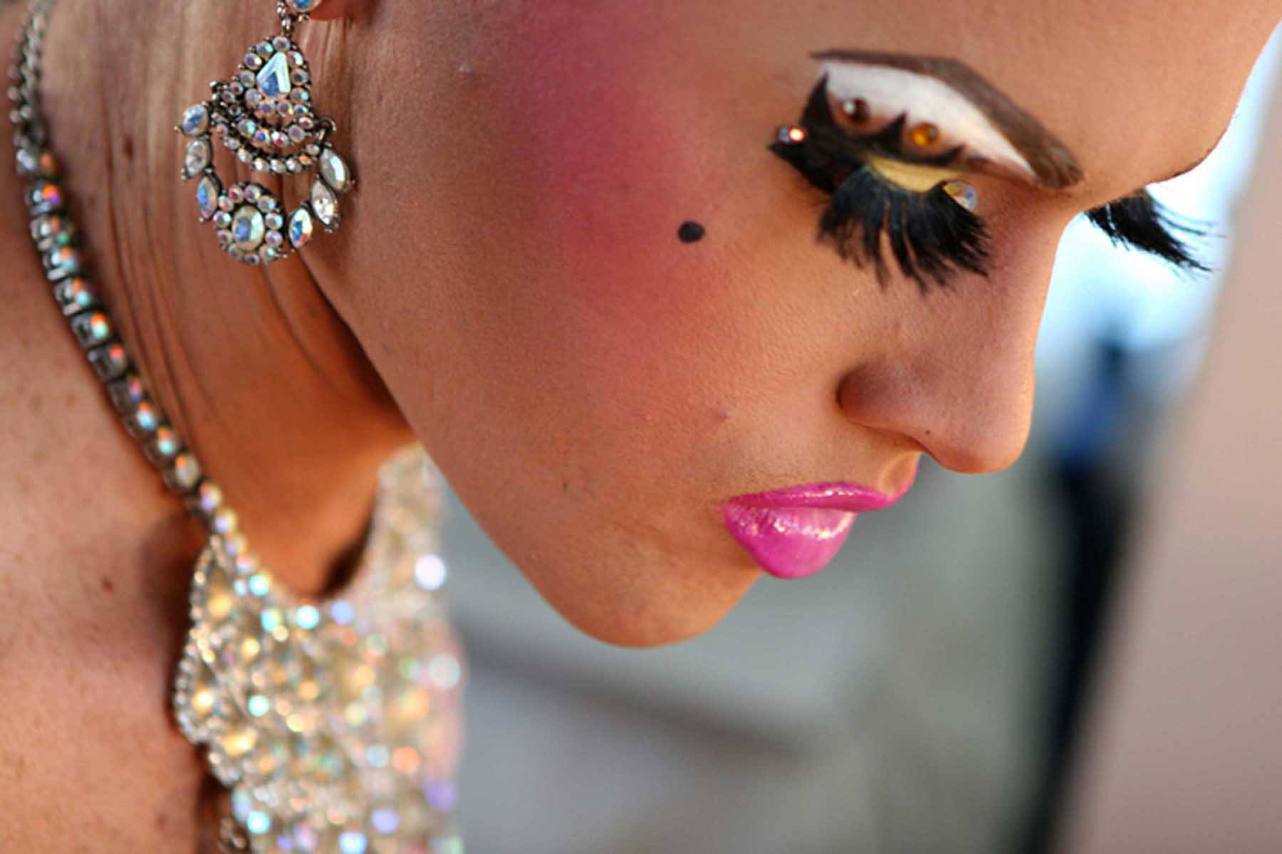 Drag Profile Closeup