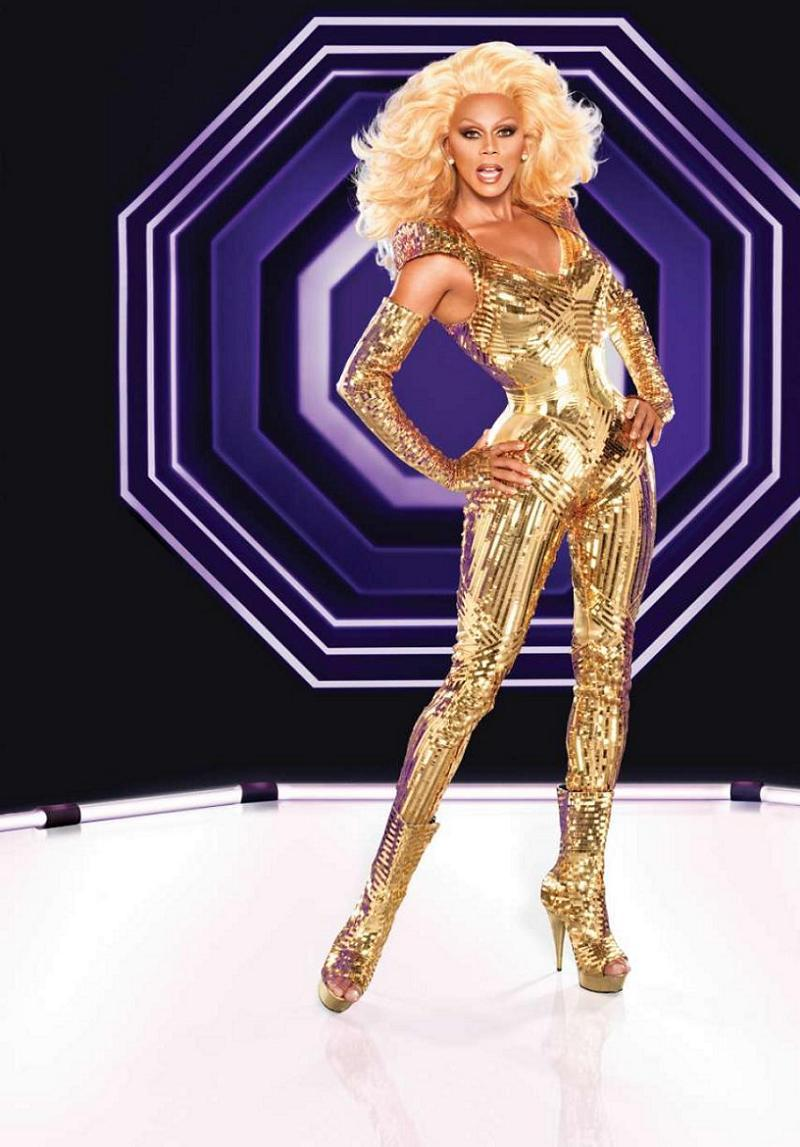 Drag Profile Gold Outfit