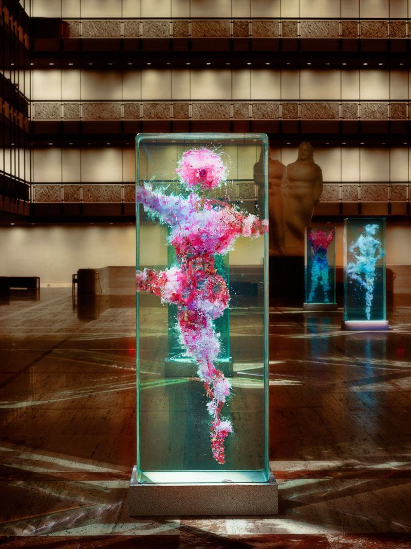 Dustin Yellin New York City Ballet Art