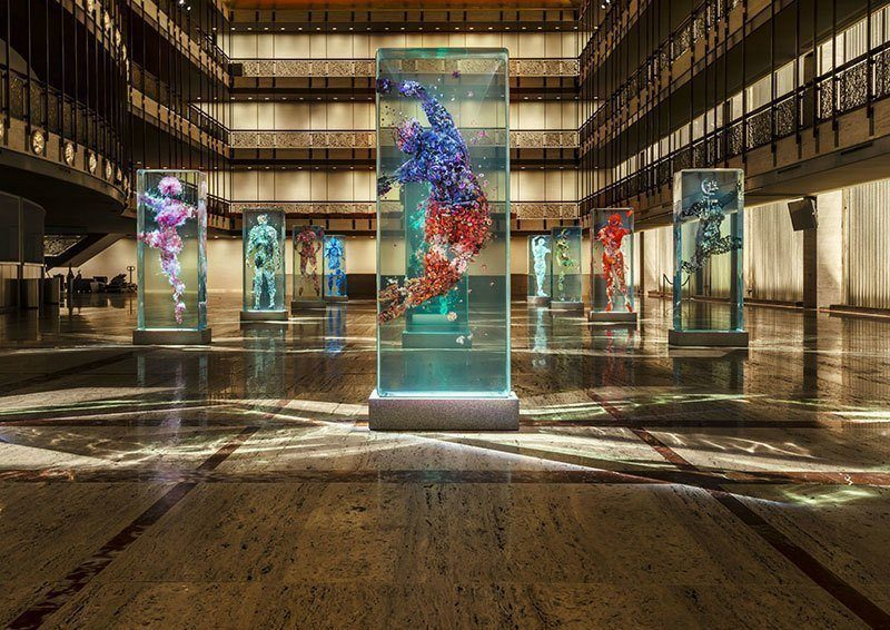 Dustin Yellin Art