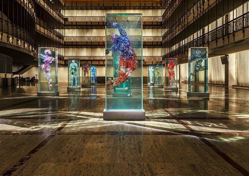 New York City Ballet Art Installation