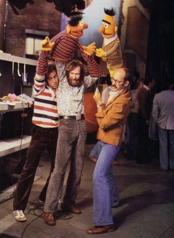 Filming Sesame Street 1980s