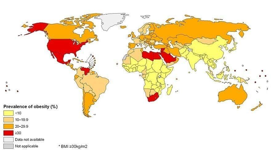 Global Obesity Rates
