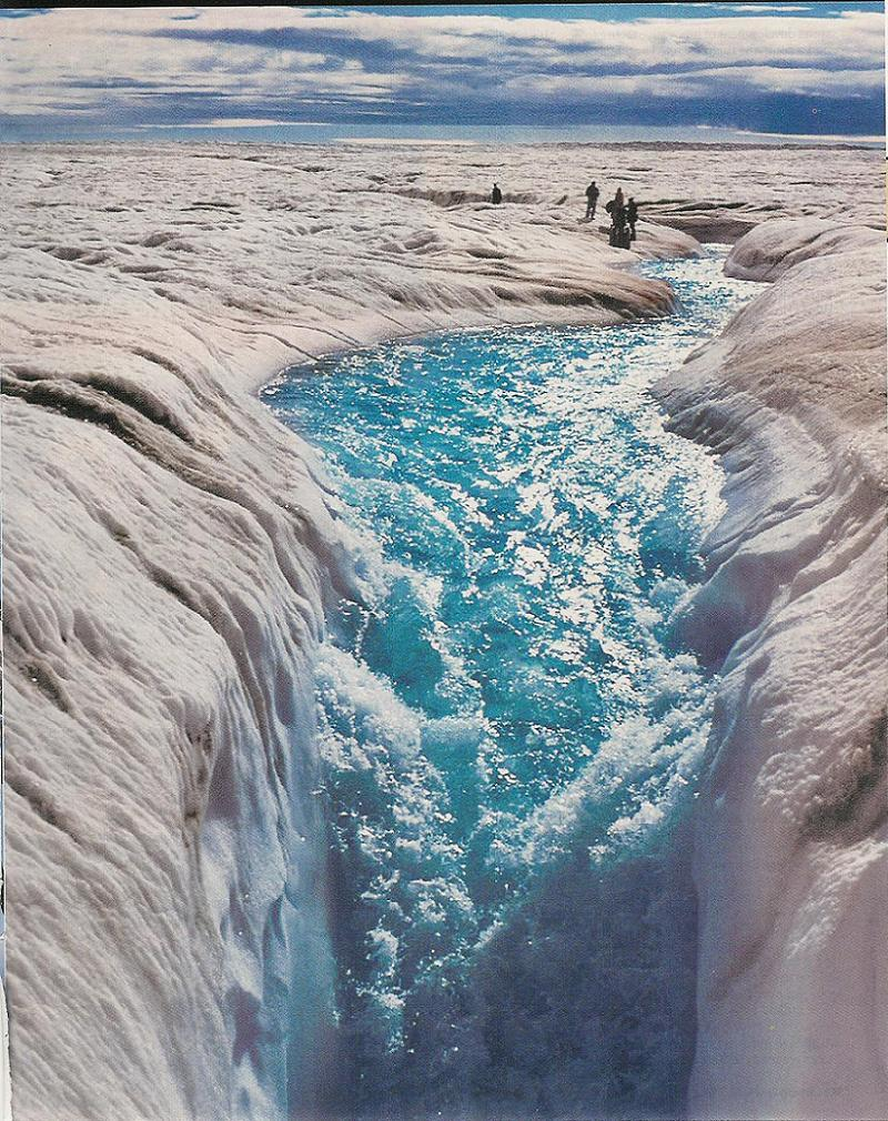 Global Warming Greenland Ice Melt