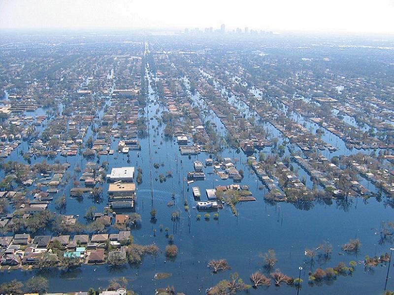 Global Warming Katrina Flooding