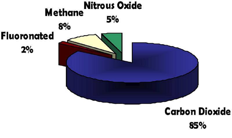 Global Warming Pie Chart