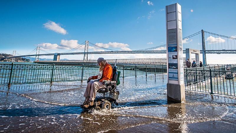 Global Warming SF Bay Flooding
