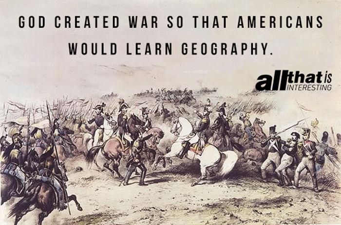 God Created War