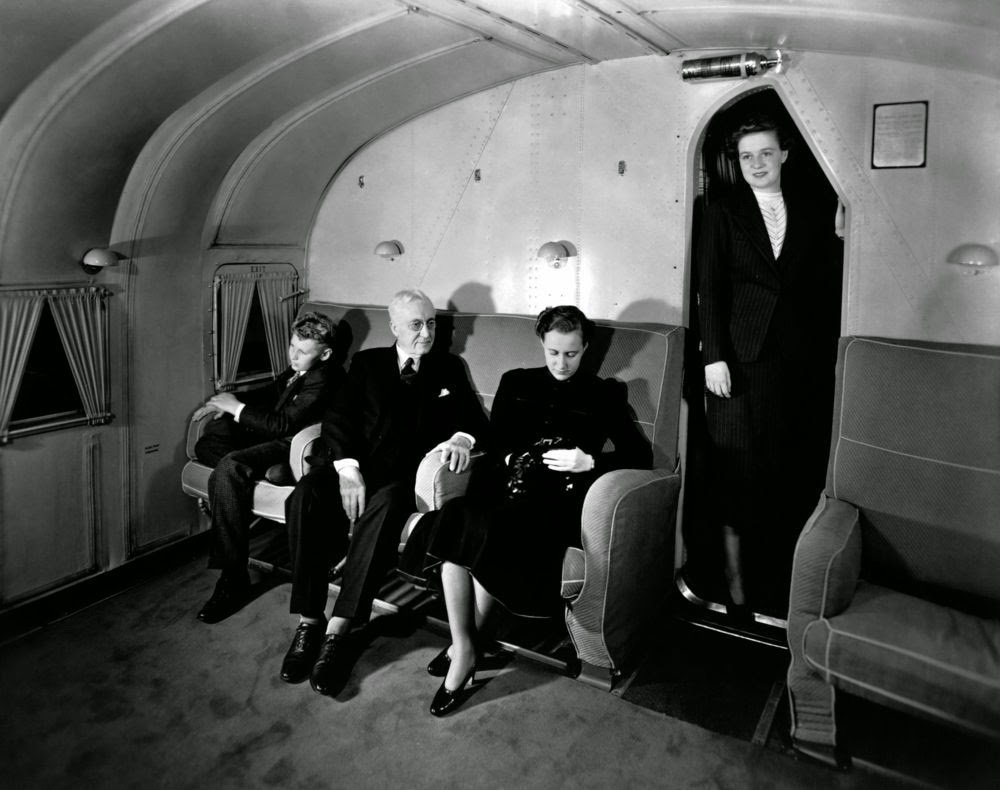 Golden Age Air Travel Couches