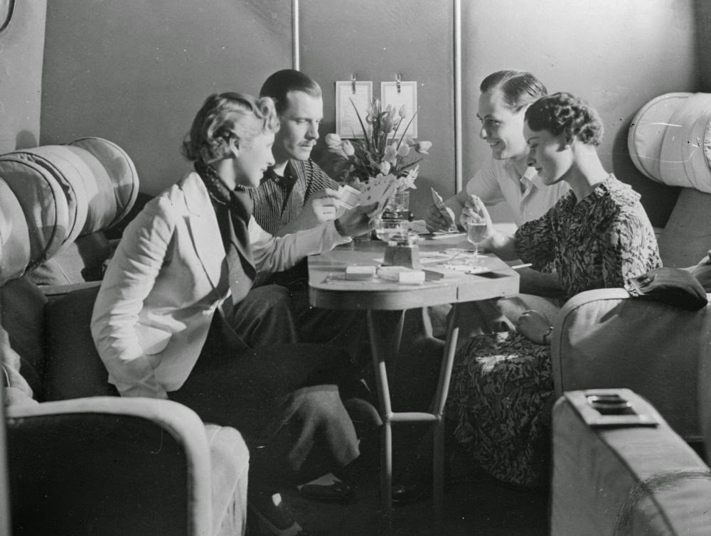 Golden Age Air Travel Dining