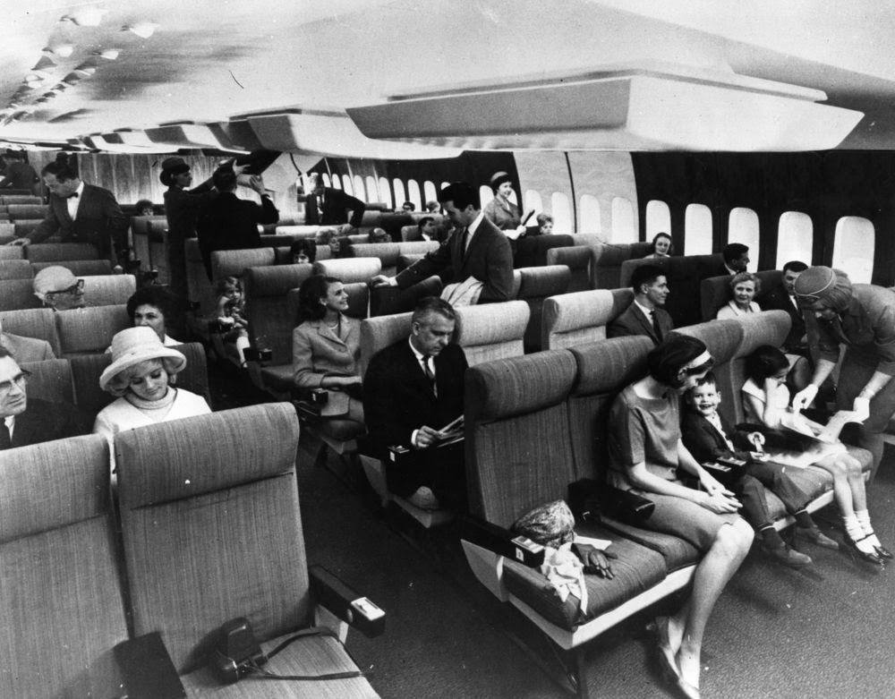Golden Age Air Travel Kids