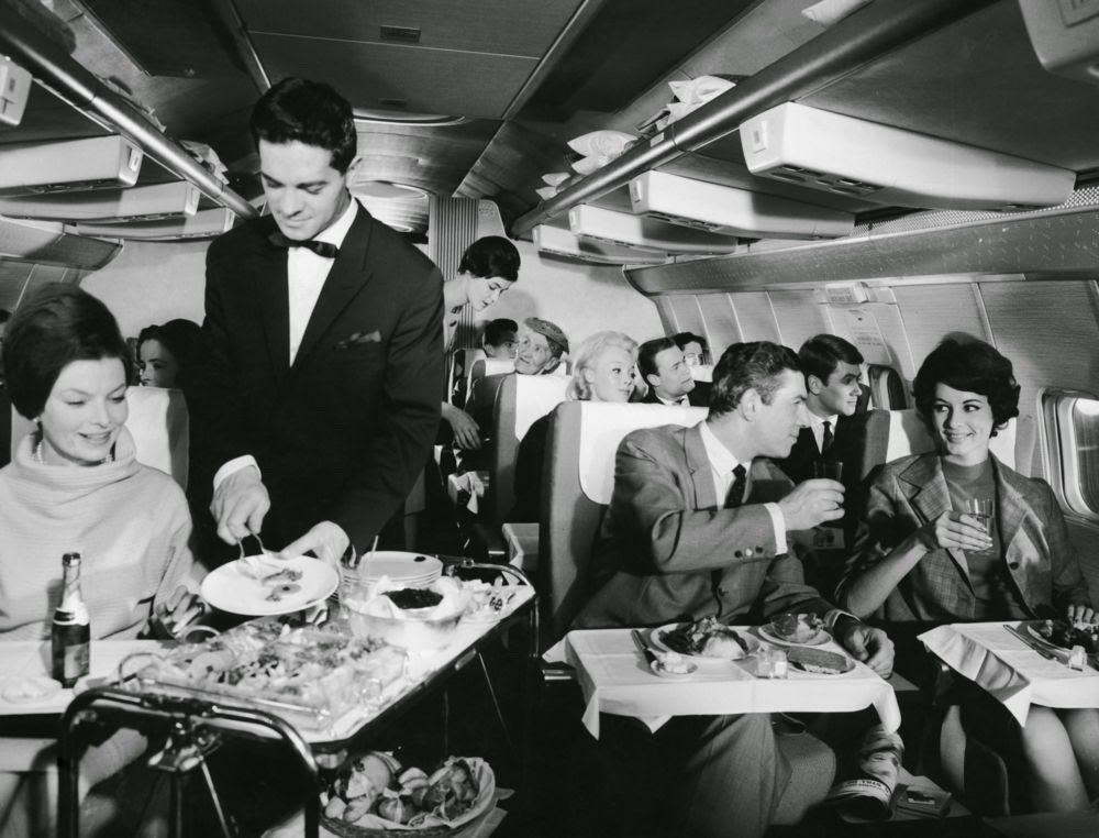 Golden Age Air Travel Serving
