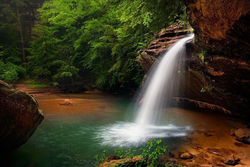 Hocking Falls Beautiful