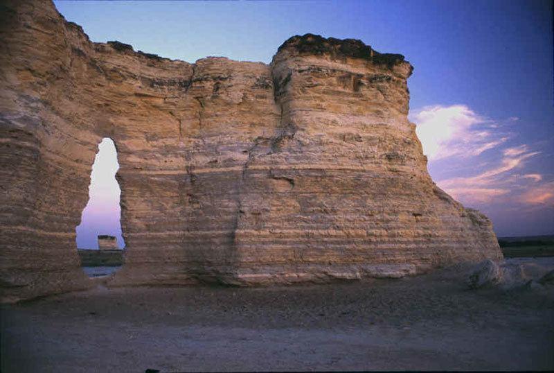 Monument Rocks in America