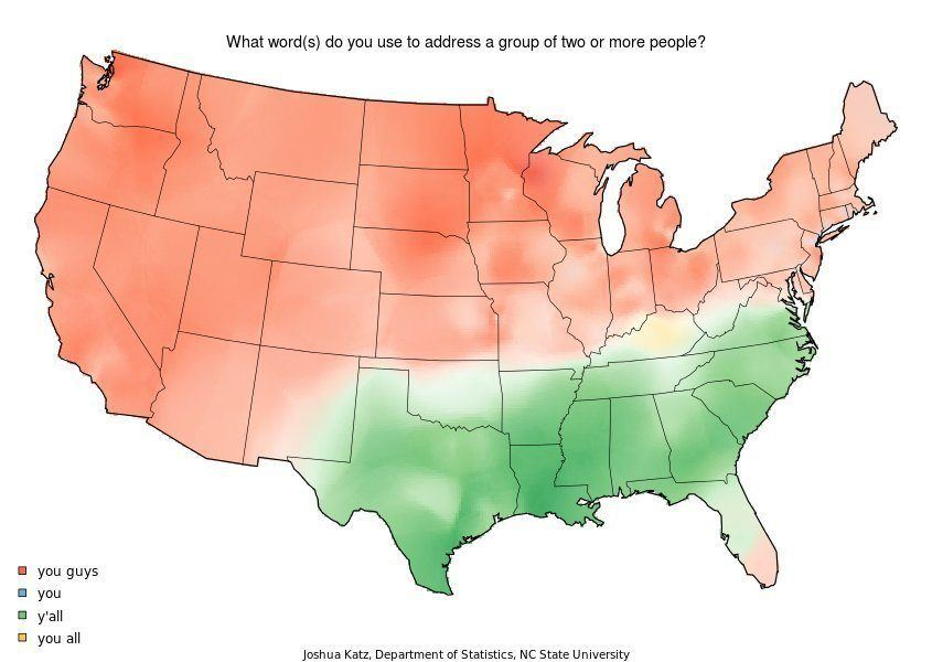 How Americans Say Groups Of People