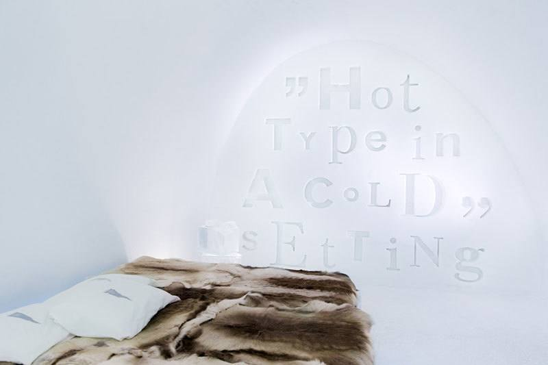 Hot Type Cold Setting Hotel Suite