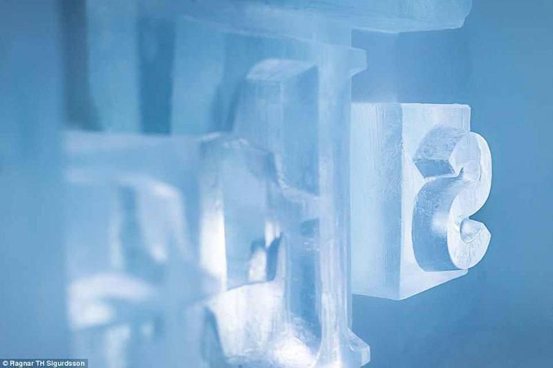 Up Close Ice Sculptures