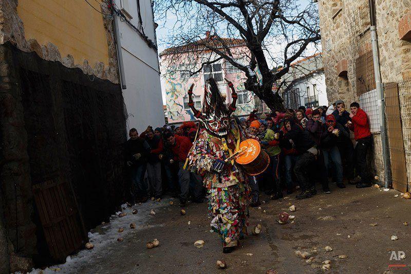 Beating Drum in Spain