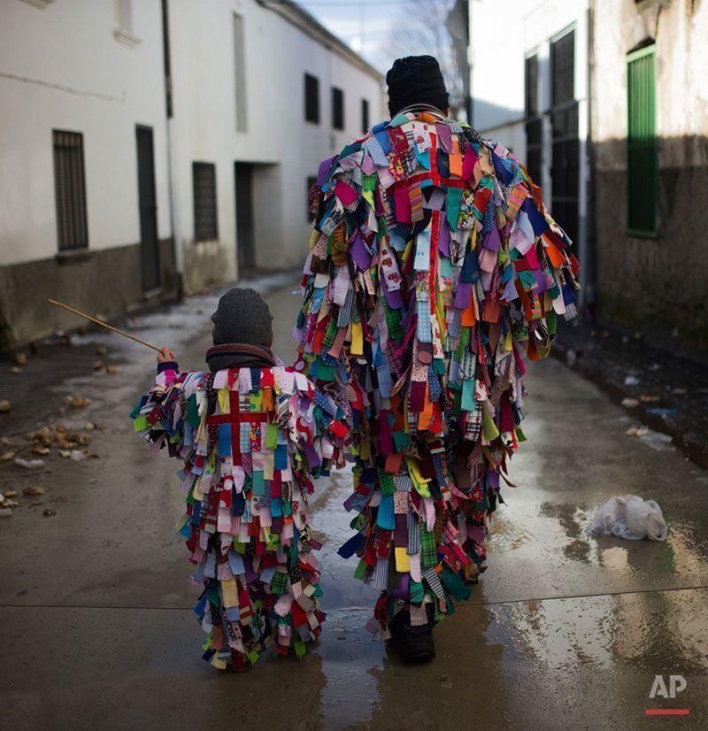Costumes from Jarramplas Festival