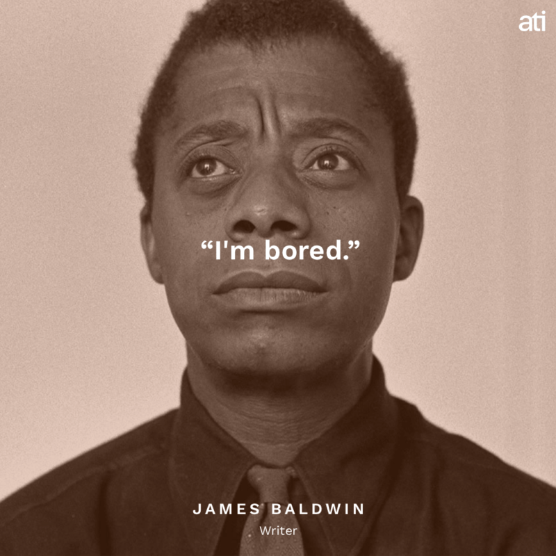 Last Words James Baldwin