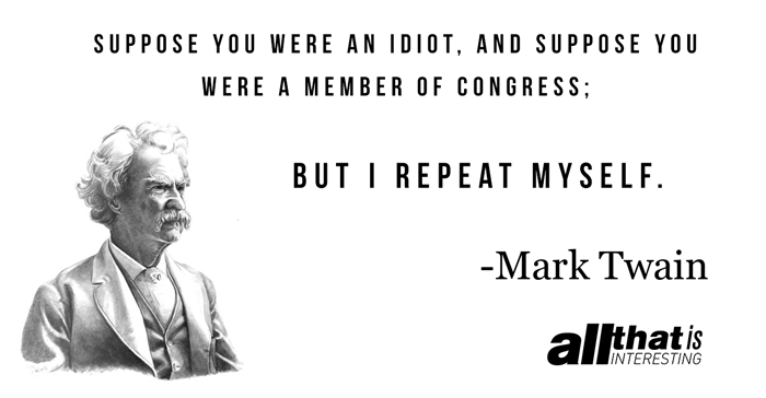 Mark Twain On Congress