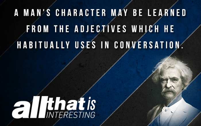 Mark Twain Quotes On Adjectives