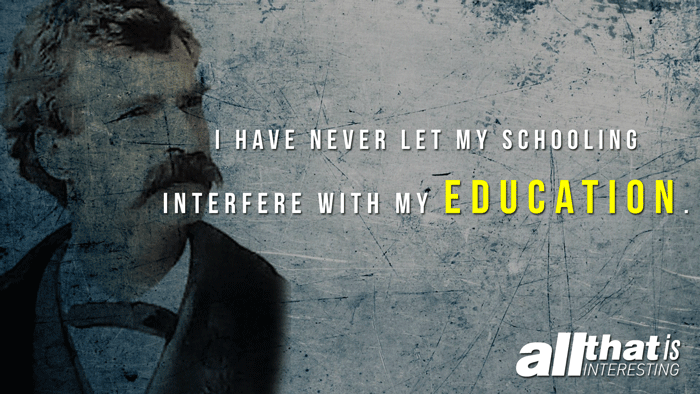 Mark Twain Quotes Education
