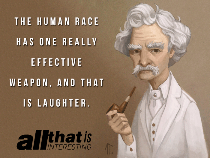 Mark Twain Quotes Laughter